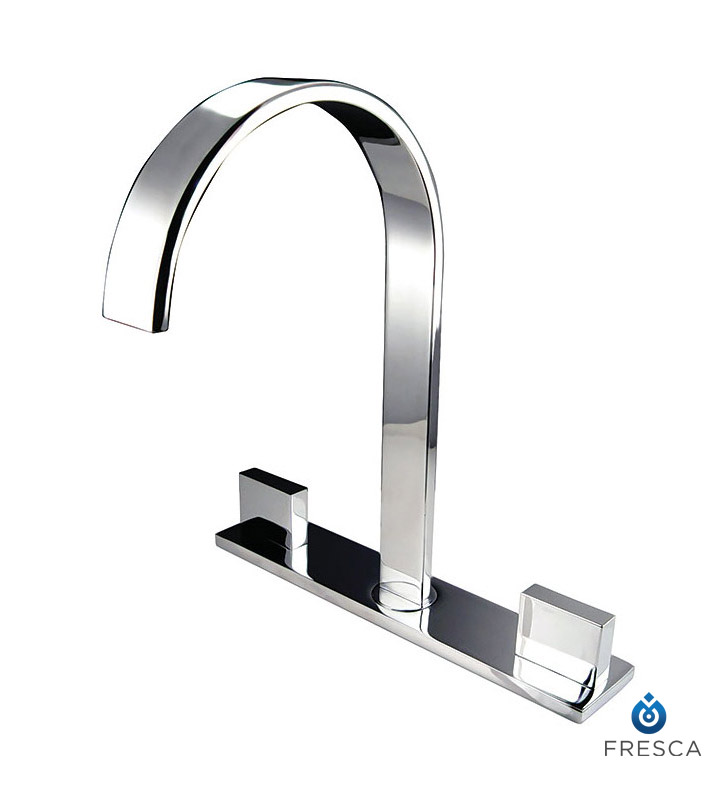 Fresca FFT3801CH Sesia Widespread Mount Bathroom Faucet in Chrome ...