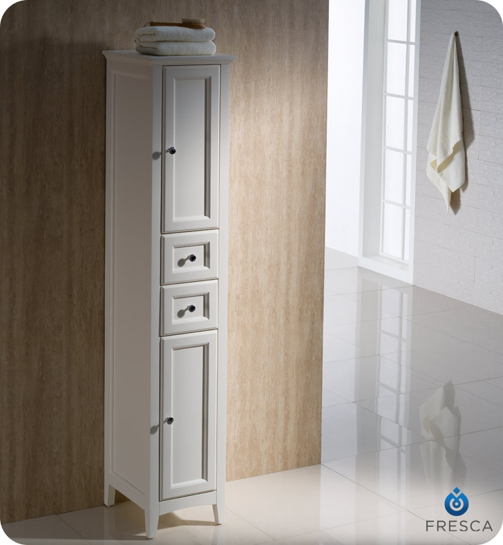 Tall Bathroom Linen Cabinet