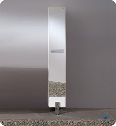 Fresca Fst8070gw Walnut Bathroom Linen Side Cabinet With 4
