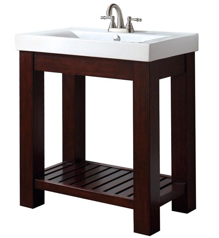 Espresso 18 Inch Bathroom Vanity