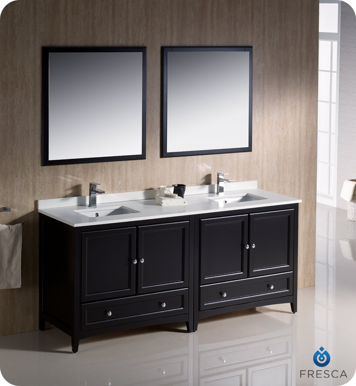 Astounding Fresca Fvn20 3636Es Oxford 72 Traditional Double Sink Bathroom Vanity In Espresso Faucets Mosaic Kitchen Supplies Bathroom Supplies And Much Download Free Architecture Designs Scobabritishbridgeorg