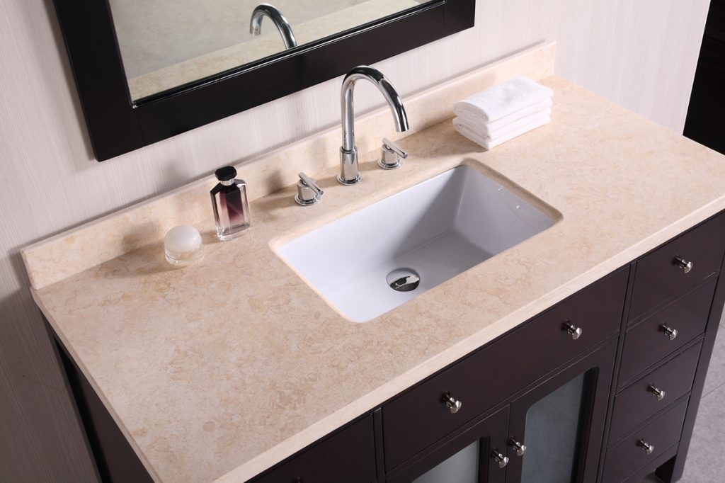 Bathroom Vanity With Top On Intended Without Sink 42 Inch 18 1024x682 Jpg