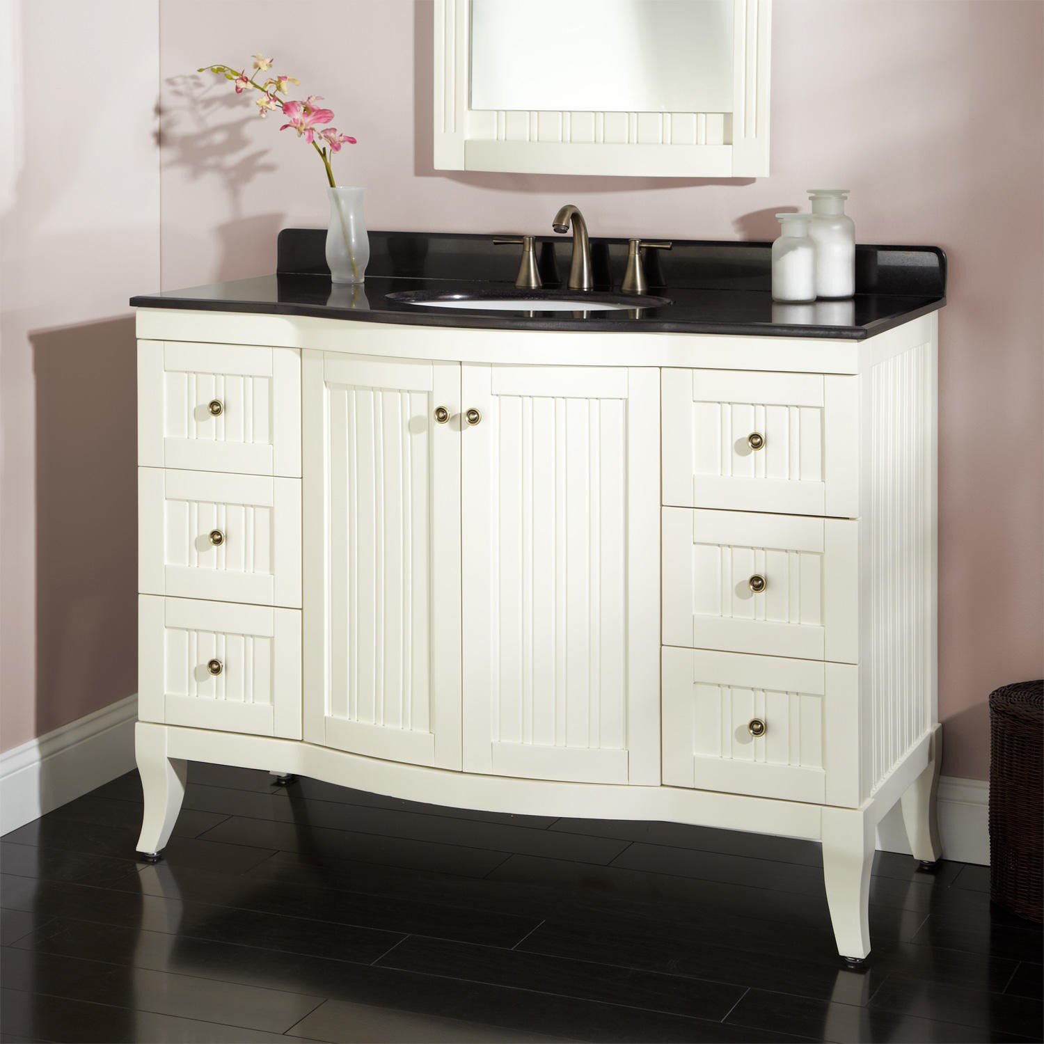 bathroom modern home small decor vanities vanity black