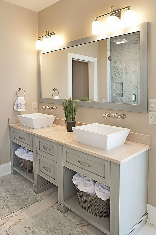 the-most-best-25-bathroom-vanity-mirrors-ideas-on-pinterest-double-sink-intended-for-mesmerizing-mirror-24